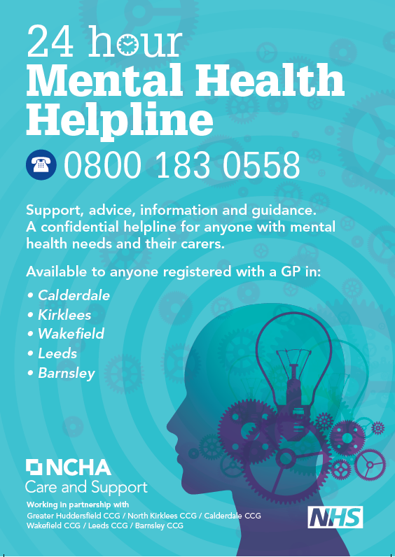 mental health supportline